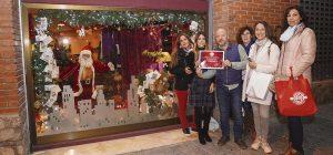 El escaparate de Valentín Gestión Inmobiliaria se hizo con el primer premio